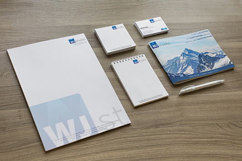 Image of custom business stationary